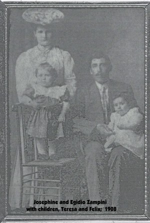 Zampini (Egidio and Josephine) 1908 photo