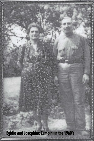 Zampini (Egidio and Josephine) 1960's photo