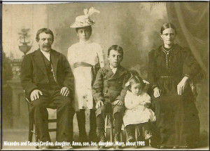 Cardina (Nicandro and Teresa) 1902 photo
