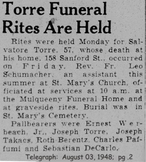 torre (salvatore) 1948 obituary-rites
