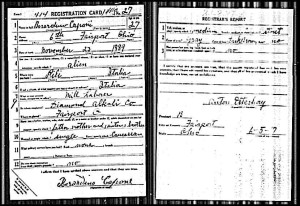 capone (berardino) 1917 wwi draft card
