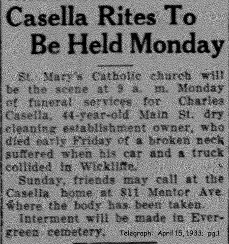 casella (charles) 1933 obituary-rites-announcement