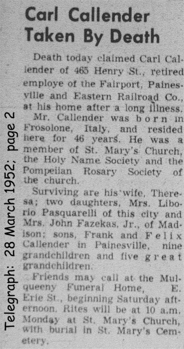 colantuono (carl a.)  1952 obituary