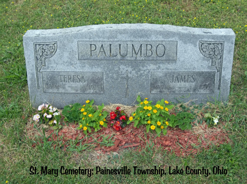 Palumbo (James & Teresa) Tombstone