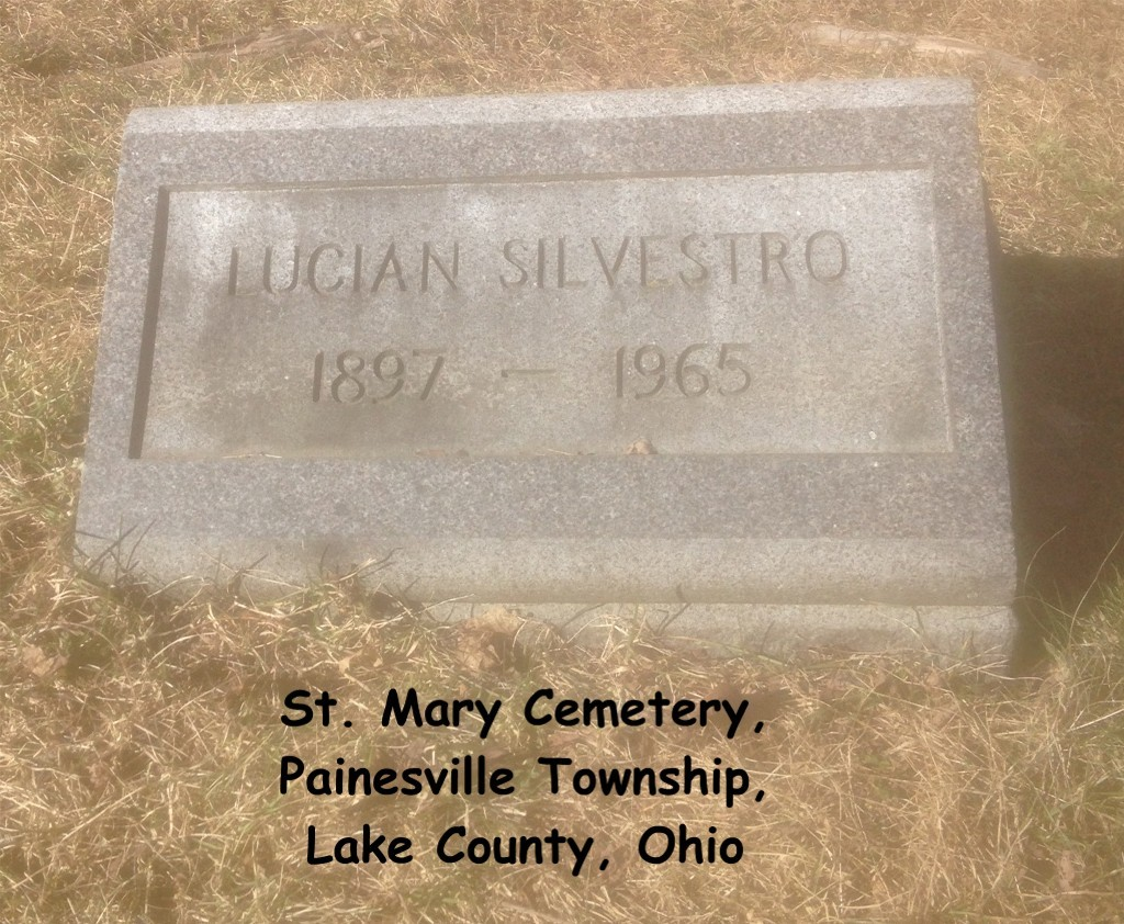 Silvestro (Lucian) Tombstone